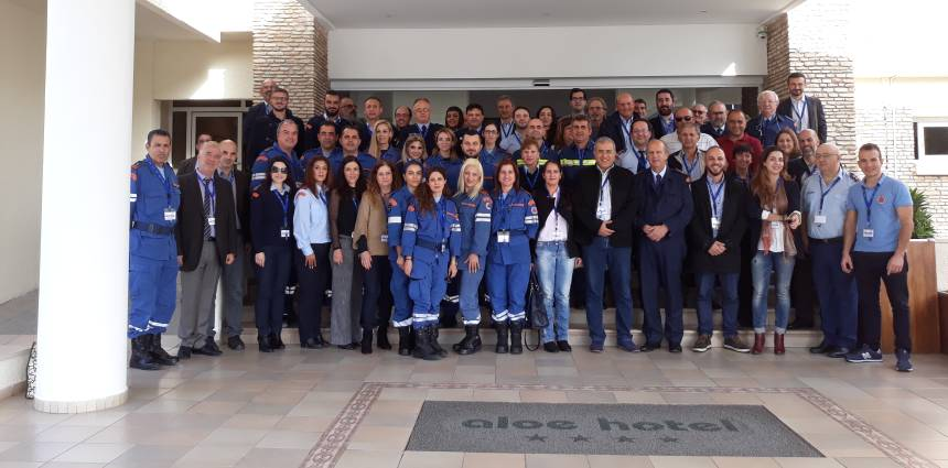 Table Top Exercise in Cyprus for DECAT Project – 4/12/2017